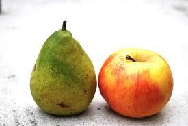 Pomme, poire et intuition