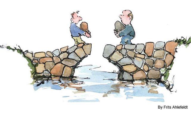 *STRESS* Le bonheur: fabriquez-vous des murs ou des ponts ?