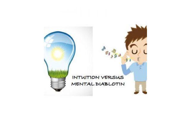 Signe ou pas signe de l'intuition